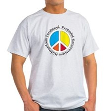 Peace out with Meds Italics T-Shirt