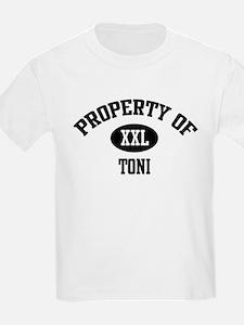 Property of Toni Kids T-Shirt