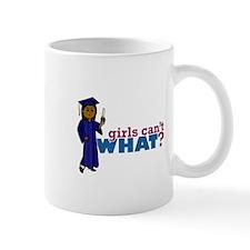 Graduate Girl in Blue Gown Mug