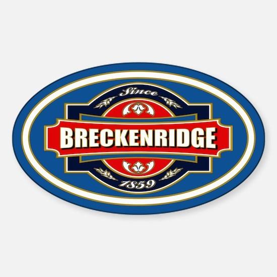 Breckenridge Old Label Decal
