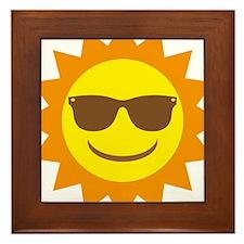 Sonne Framed Tile