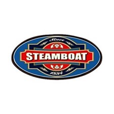 Steamboat Old Label Patches