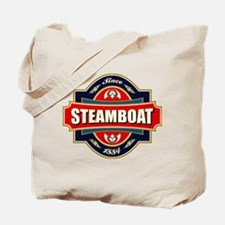 Steamboat Old Label Tote Bag