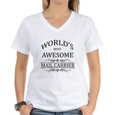 World's Most Awesome Mail Carrier Shirt