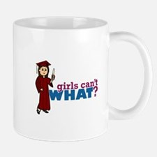 Cap and Gown Girl Mug