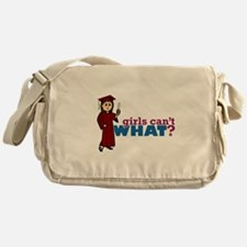 Cap and Gown Girl Messenger Bag