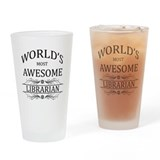 Librarian Pint Glasses