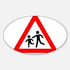 Caution: Slow Child Playing Decal