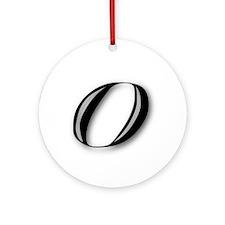 0 (ZERO) Ornament (Round)