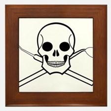 Chompy Chompy Pirates Framed Tile