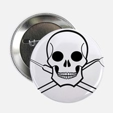 "Chompy Chompy Pirates 2.25"" Button"