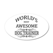 World's Most Awesome Dog Trainer Wall Decal