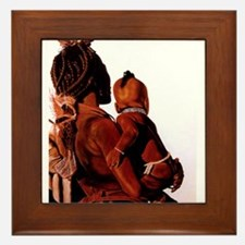 Congolese Mother & ChildFramed Tile