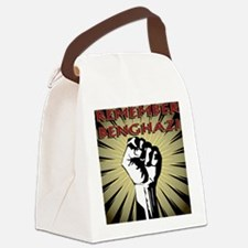 Remember Benghazi Canvas Lunch Bag
