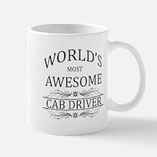 World's Most Awesome Cab Driver Mug
