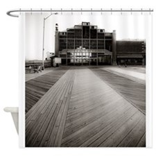 Asbury Park Boardwalk Shower Curtain