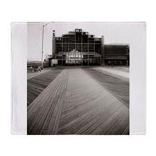 Asbury Park Boardwalk Throw Blanket
