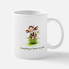 Everything is better on grass Mug