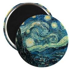 Starry Night Vincent Van Gogh Magnet
