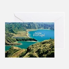 Lagoa do Fogo Greeting Card
