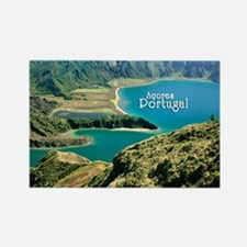 Lagoa do Fogo Rectangle Magnet