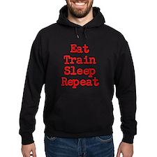 Eat Train Sleep Repeat Hoodie