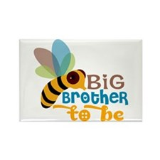 Big Brother To Be Rectangle Magnet