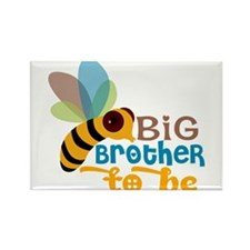 Big Brother To Be Rectangle Magnet (10 pack)