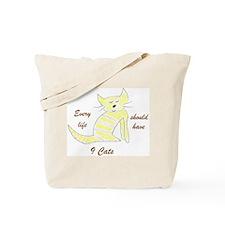 Cute cat t-shirts, cute cat shirts & more Tote Bag