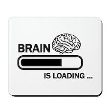 Brain loading Mousepad