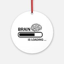 Brain loading Ornament (Round)