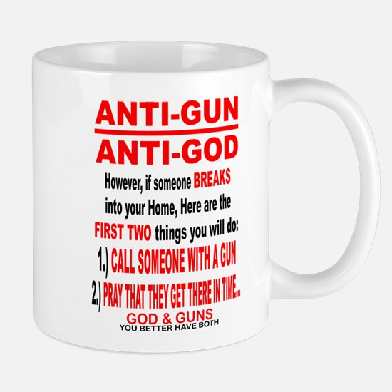 GOD and GUNS Mug