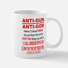 GOD and GUNS Small Mugs