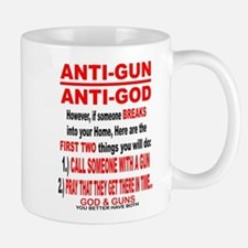 GOD and GUNS Small Small Mug