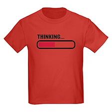 Thinking loading T