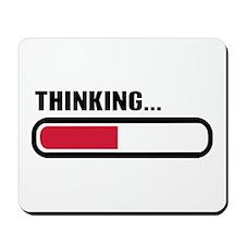 Thinking loading Mousepad