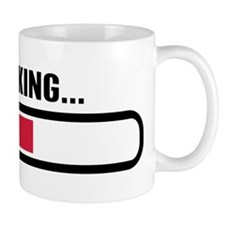 Thinking loading Small Mug