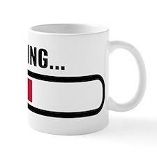 Thinking loading Small Mug