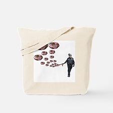 Copper Donut Dream Time Tote Bag