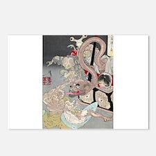 Pandoras Box - Yoshotoshi Taiso - 1880 - woodcut P