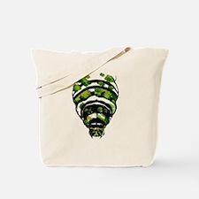 Caterpillar ( Earthy) Rorschach Tote Bag
