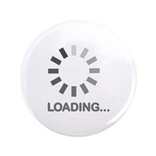 "Loading bar internet 3.5"" Button"