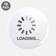 "Loading bar internet 3.5"" Button (10 pack)"