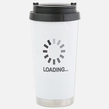 Loading bar internet Travel Mug
