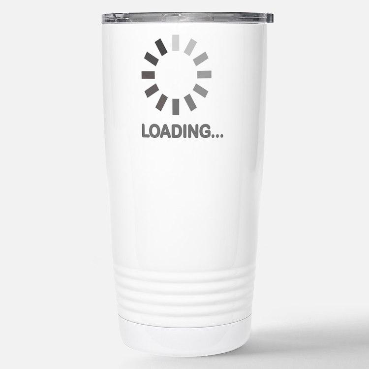 Loading bar internet Travel Mug