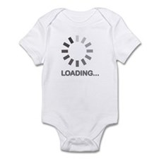 Loading bar internet Infant Bodysuit