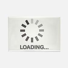 Loading bar internet Rectangle Magnet (100 pack)