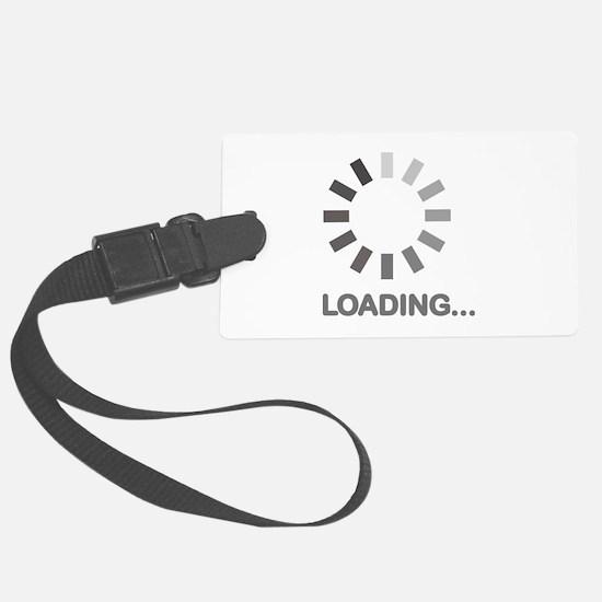 Loading bar internet Luggage Tag