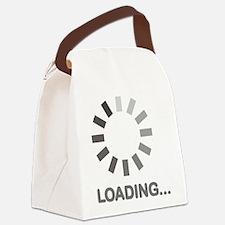 Loading bar internet Canvas Lunch Bag