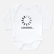 Loading bar internet Long Sleeve Infant Bodysuit